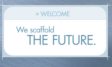 We scaffold the future. Click to enter.